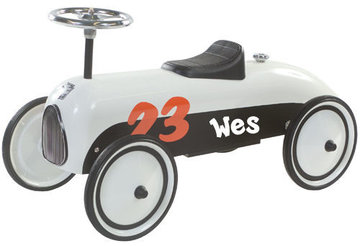 Retro Racer Two Color (zwart-wit)