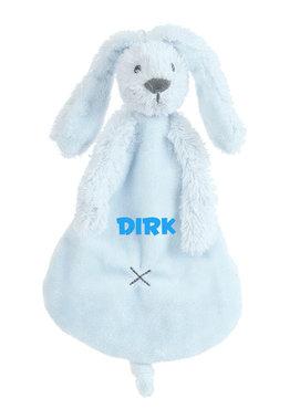 Rabbit Richie blauw tuttle met naam