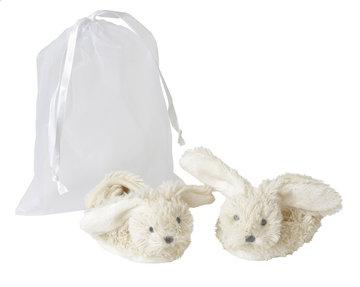 Ivory Rabbit Richie slofjes