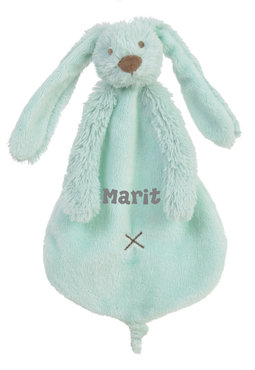 Rabbit Richie Lagoon (mint) tuttle met naam