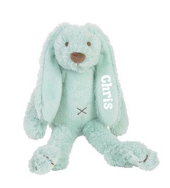 Rabbit Richie Lagoon (Mint) Tiny knuffel met naam