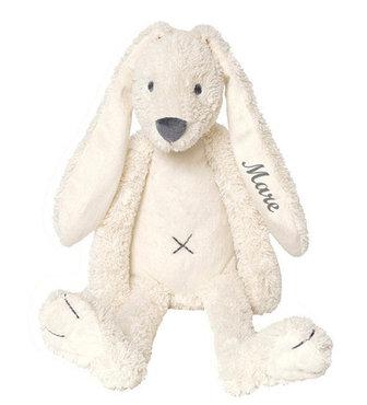 MEGA Rabbit Richie Ivory knuffel met naam (58 cm)