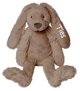 MEGA Rabbit Richie Clay knuffel met naam (58 cm)
