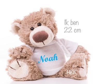 Bear Bella met naam No.1 (22 cm)