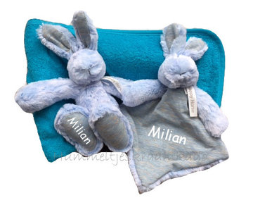 Kraammand Rabbit Rivoli Blauw