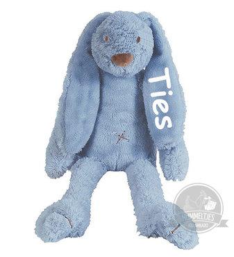 MEGA Rabbit Richie Deep Blue knuffel met naam (58 cm)