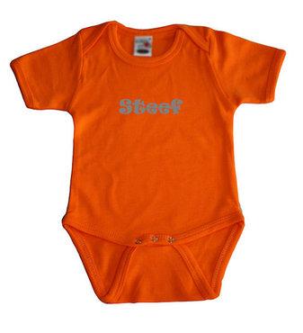 Romper Oranje (korte mouw)