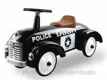 Politie auto met naam
