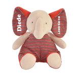 Elephant Emma met naam