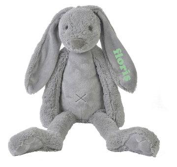 MEGA Rabbit Richie Grey knuffel met naam (58 cm)