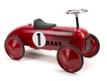 Retro racer rood