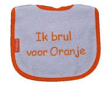 Slab Ik brul voor Oranje!