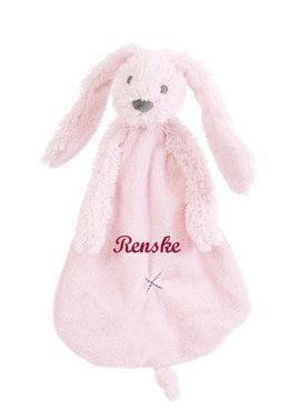 Rabbit Richie roze tuttle met naam