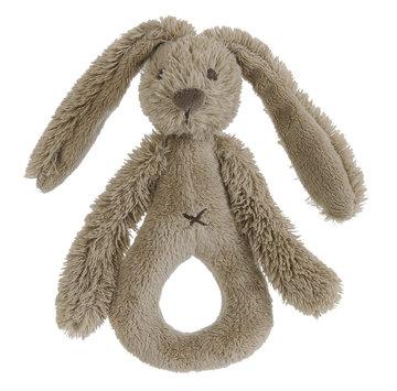 Rabbit Richie bruin Rattle Clay rammelaar met naam