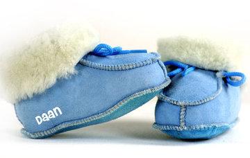 Babyslofjes blauw