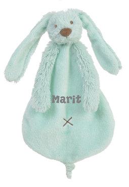 Rabbit Richie Lagoon (mint) tuttle met naam