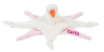 Pink Stork Stella Tuttle Ooievaar meisje met naam
