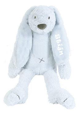 MEGA Rabbit Richie Blue knuffel met naam (58 cm)