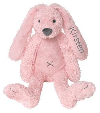 MEGA Rabbit Richie Pink knuffel met naam (58 cm)