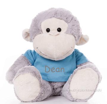 Grote aap met naam