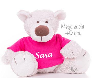 Bear Baggio met naam No.3 (40 cm)