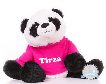 Panda Beer Pearce met naam No.2 (Groot 32 cm)