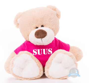 Kleine beer bedrukt met naam