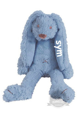 Tiny Rabbit Richie Deep Blue knuffel met naam