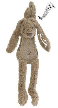 Rabbit Richie bruin muziekje