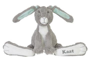 Grey Rabbit Twine konijn met naam No. 2