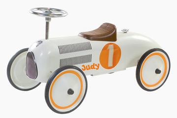 Retro Rider wit-oranje Judy