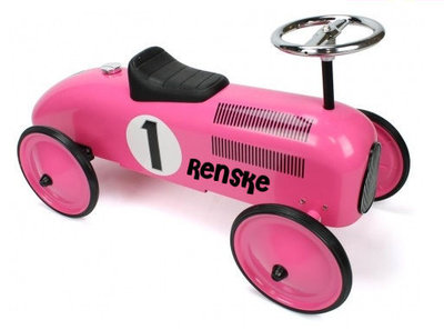 Retro racer pink