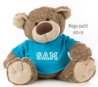 Bear Bella met naam No.3 (40 cm)