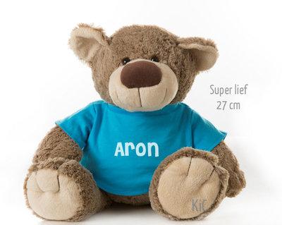 Bear Bella met naam No.2 (27 cm)
