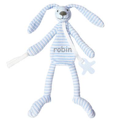 Blue Rabbit Reece Tuttle met naam Happy Horse