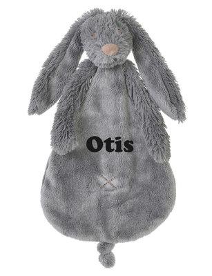 Rabbit Richie deep grey tuttle met naam