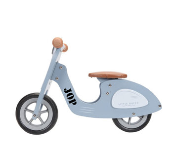 Loopscooter Little Dutch: Blauw (NIEUW)