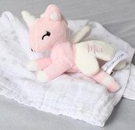 unicorn- rose - wit